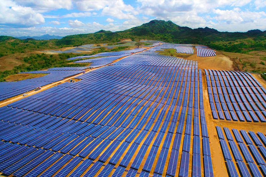 solar farm calatagan